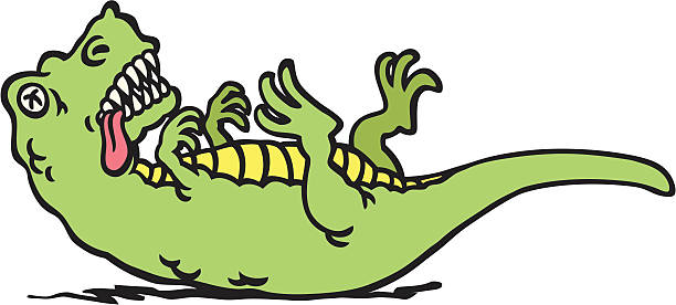 Dead Dinosaur Clipart.
