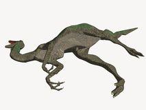 Dead Cartoon Dinosaur stock illustration. Illustration of cartoon.