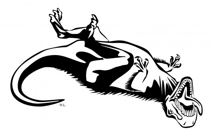 Dead Dinosaur Png Vector, Clipart, PSD.