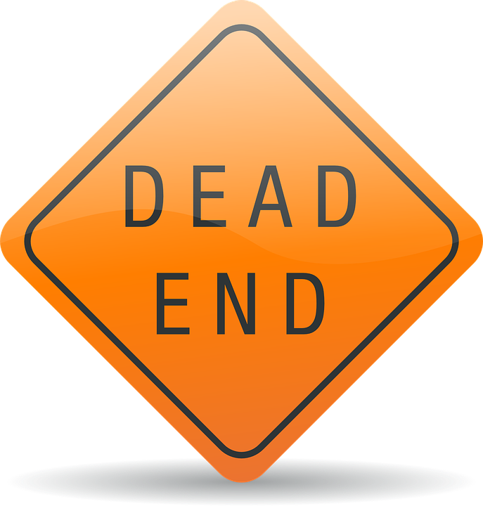 Dead, End.