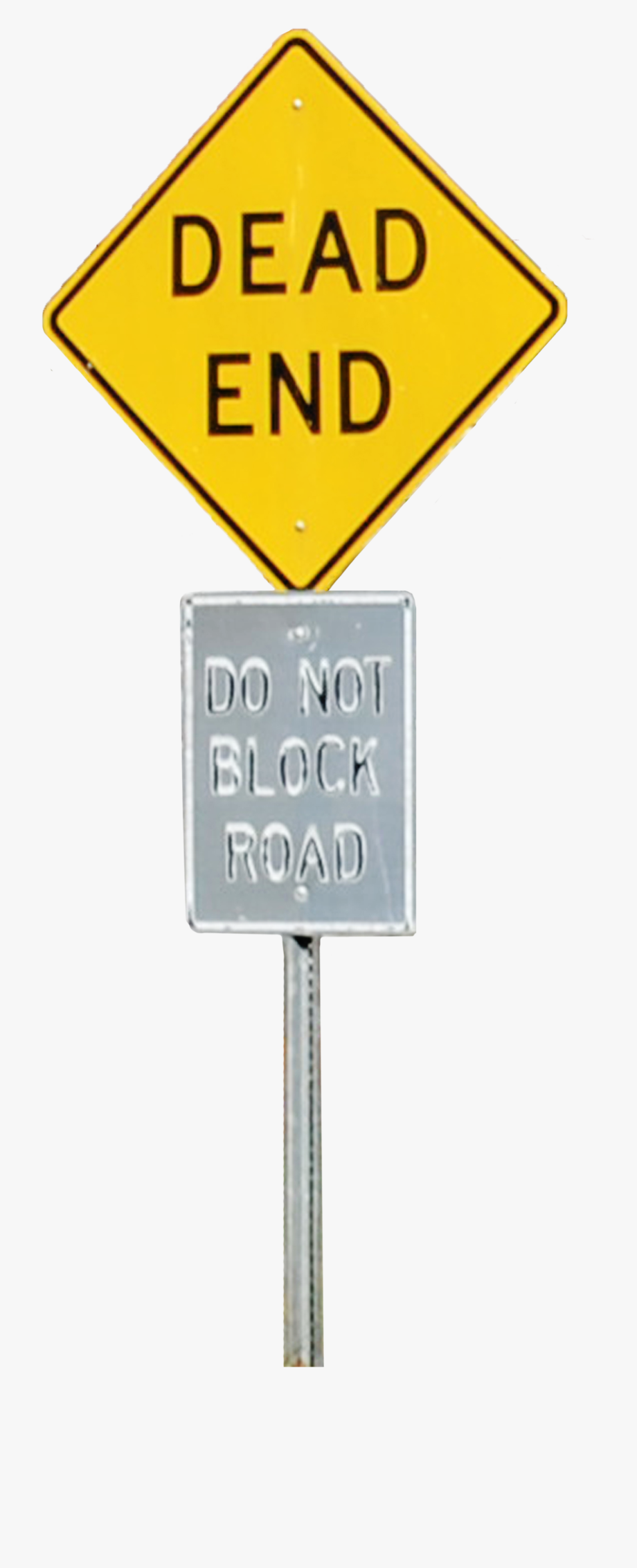 Dead End Sign Png , Transparent Cartoon, Free Cliparts.
