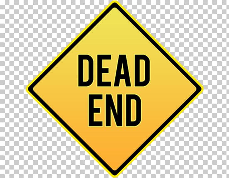 Traffic sign Dead end, Diamond traffic signs, Dead End road.