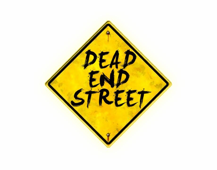 Dead End Street Sign.