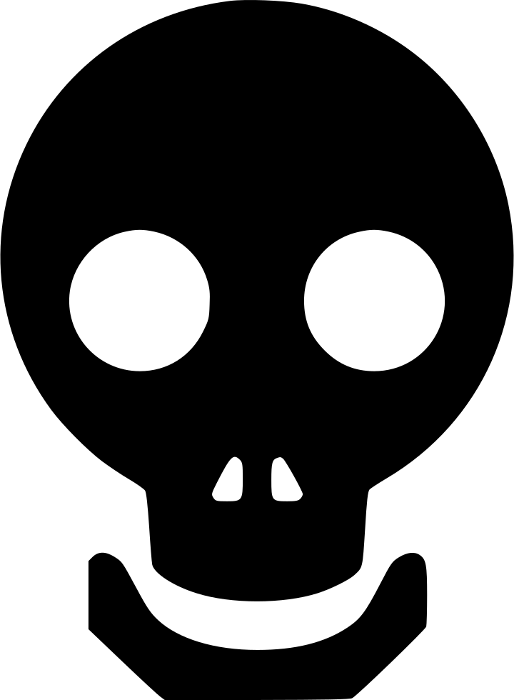Halloween Dead Face Horror Skull Tattoo Zombie Svg Png Icon Free.