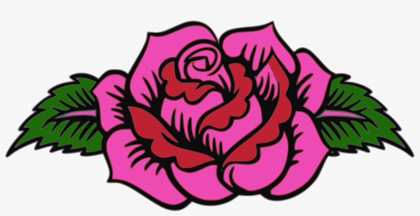 Garden Roses Floral Design Pink Day Of The Dead.