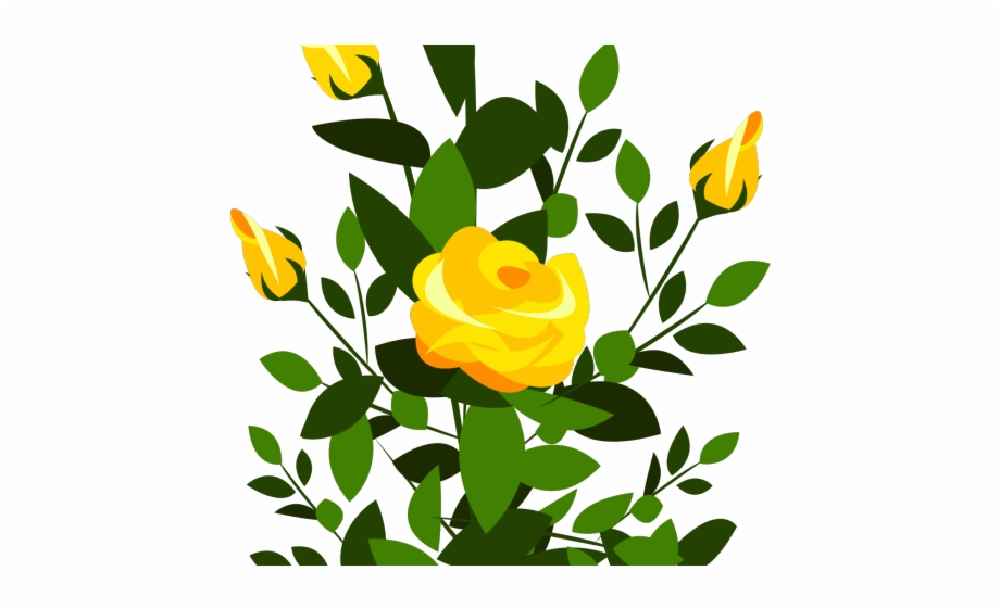 Rose Bush Clipart Dead.