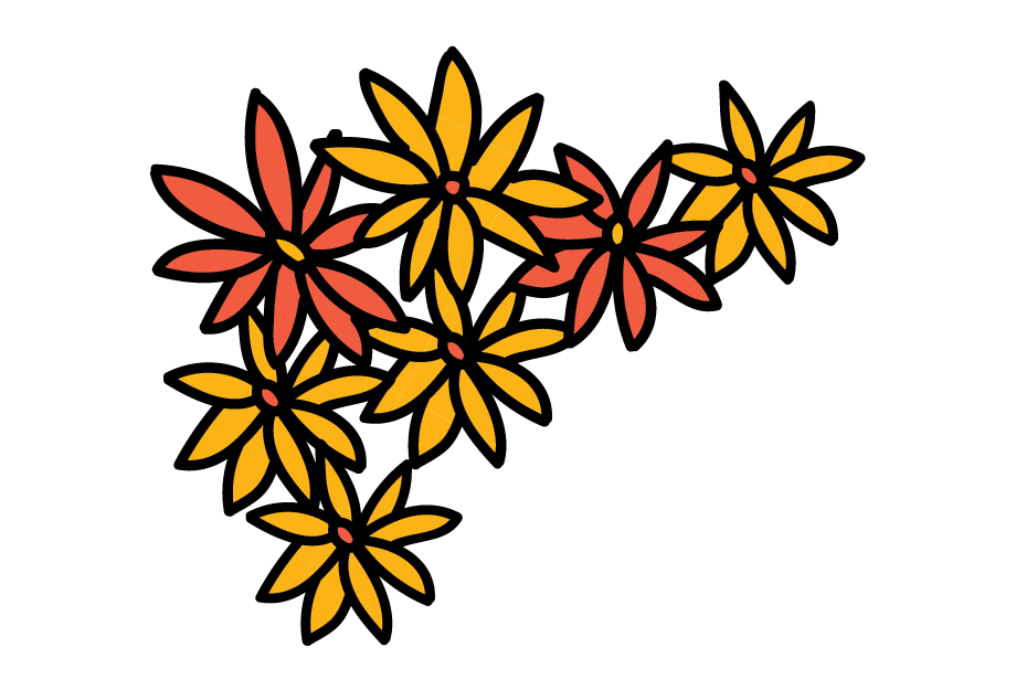 28 Collection Of Day Of The Dead Flowers Clipart.