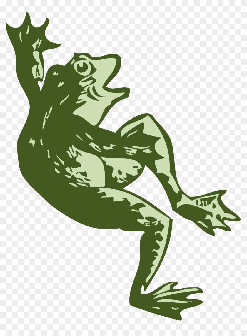 Dancing Frog Svg Vector File, Vector Clip Art Svg File.