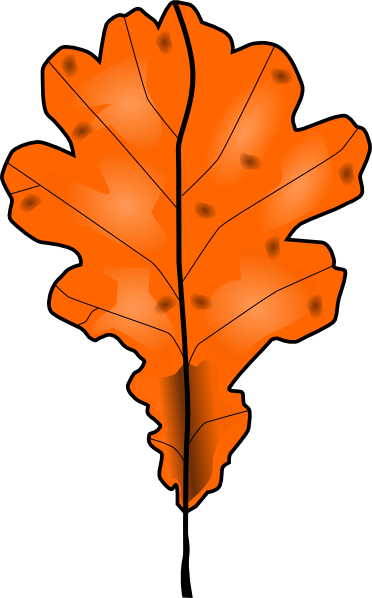 Dead leaf clipart.