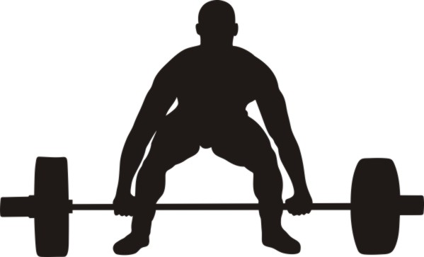 Powerlifting Clipart.