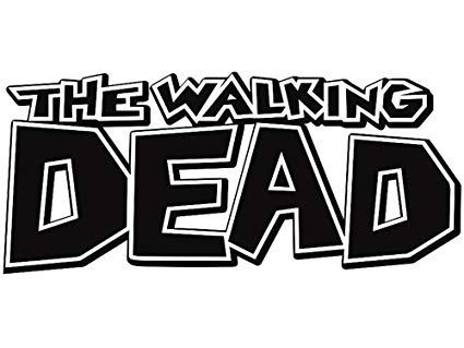 The Walking Dead Comic Book Logo.