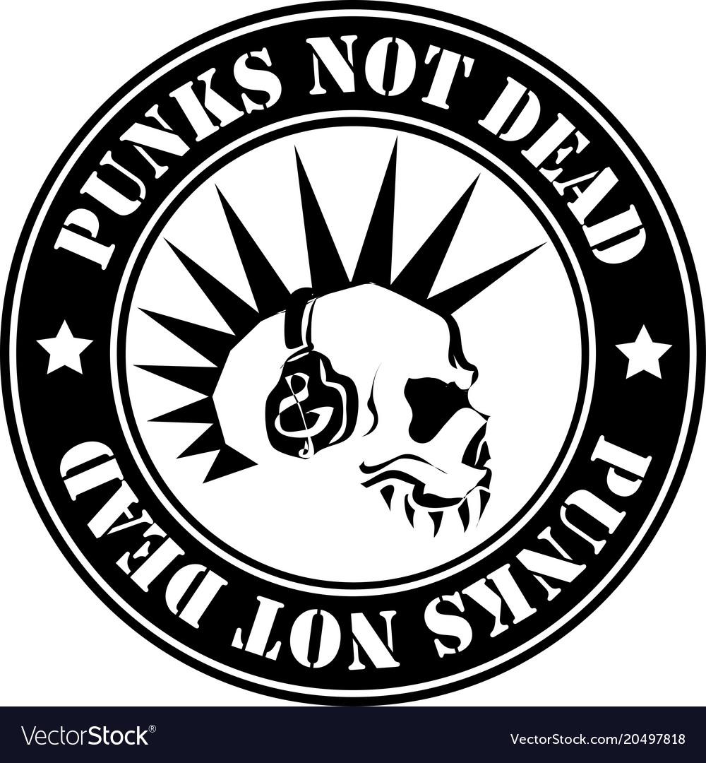Emblem punk not dead.