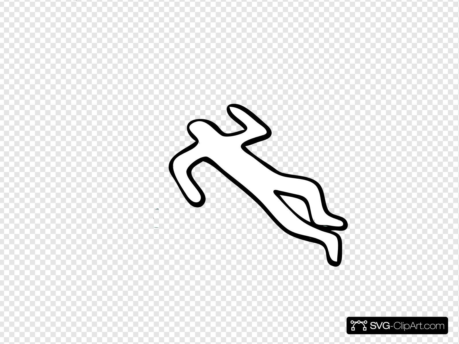 Dead Man Clip art, Icon and SVG.
