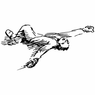 HD Chalk Outline Body Png.