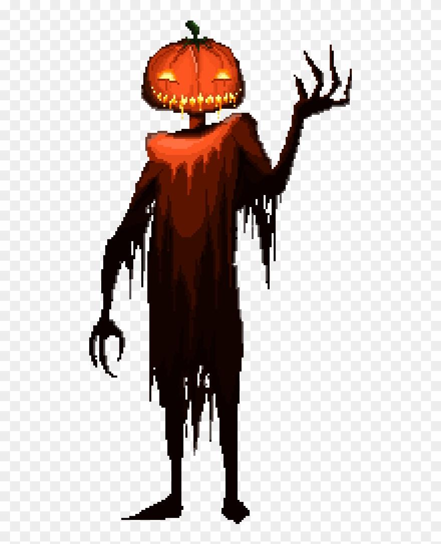 Dead Man Pumpkin Clipart (#3134495).