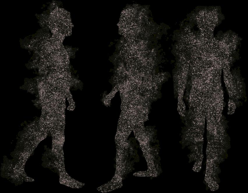 HD #people #silhouette #walking #dead.