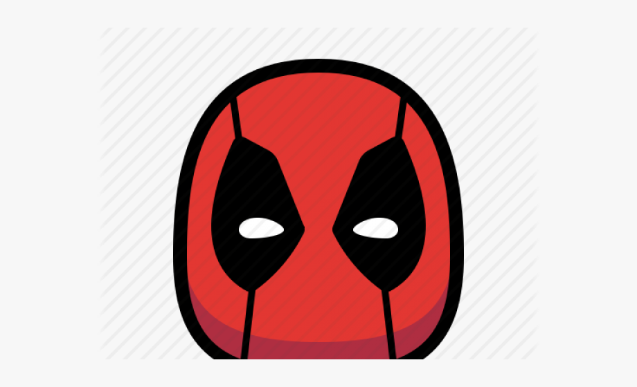 Deadpool Clipart Face.