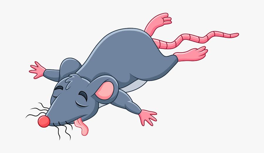 Dead Mouse Cartoon Clipart , Png Download.