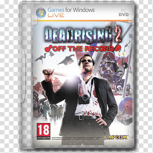 Game Icons , Dead Rising Off the Record transparent.