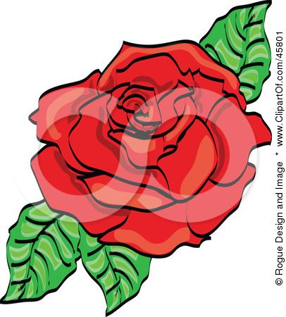 Day of the Dead Rose (for chin).