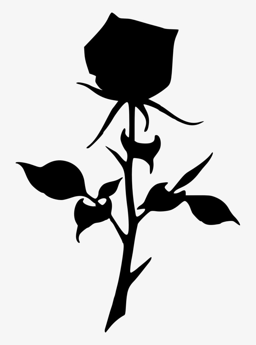 Clipart Rose Dead Rose.