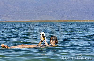 Dead Sea, Jordan Royalty Free Stock Images.