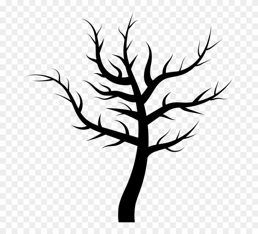 Dead Tree Cartoon 21, Buy Clip Art.