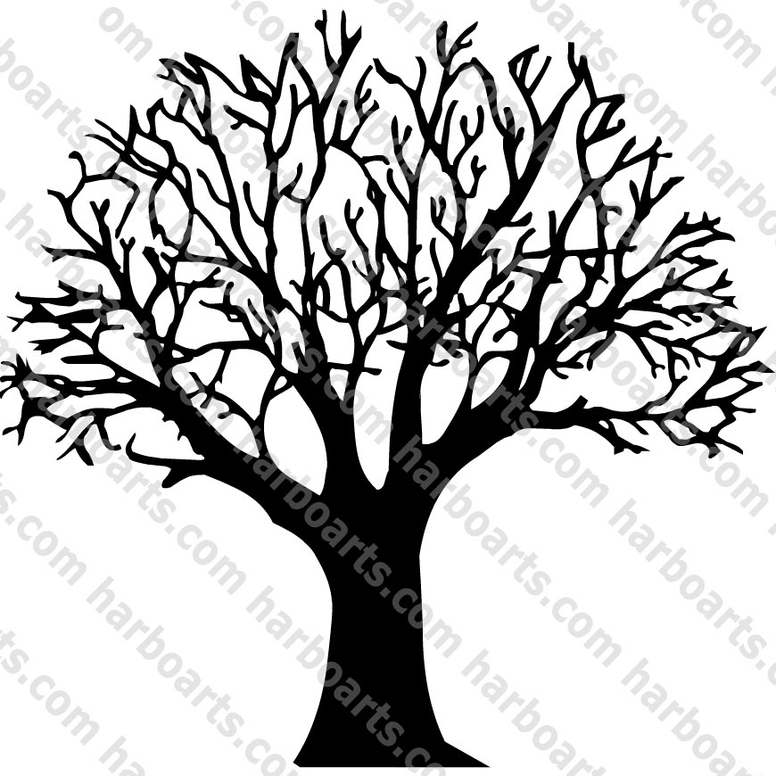 Live And Dead Tree Clipart.