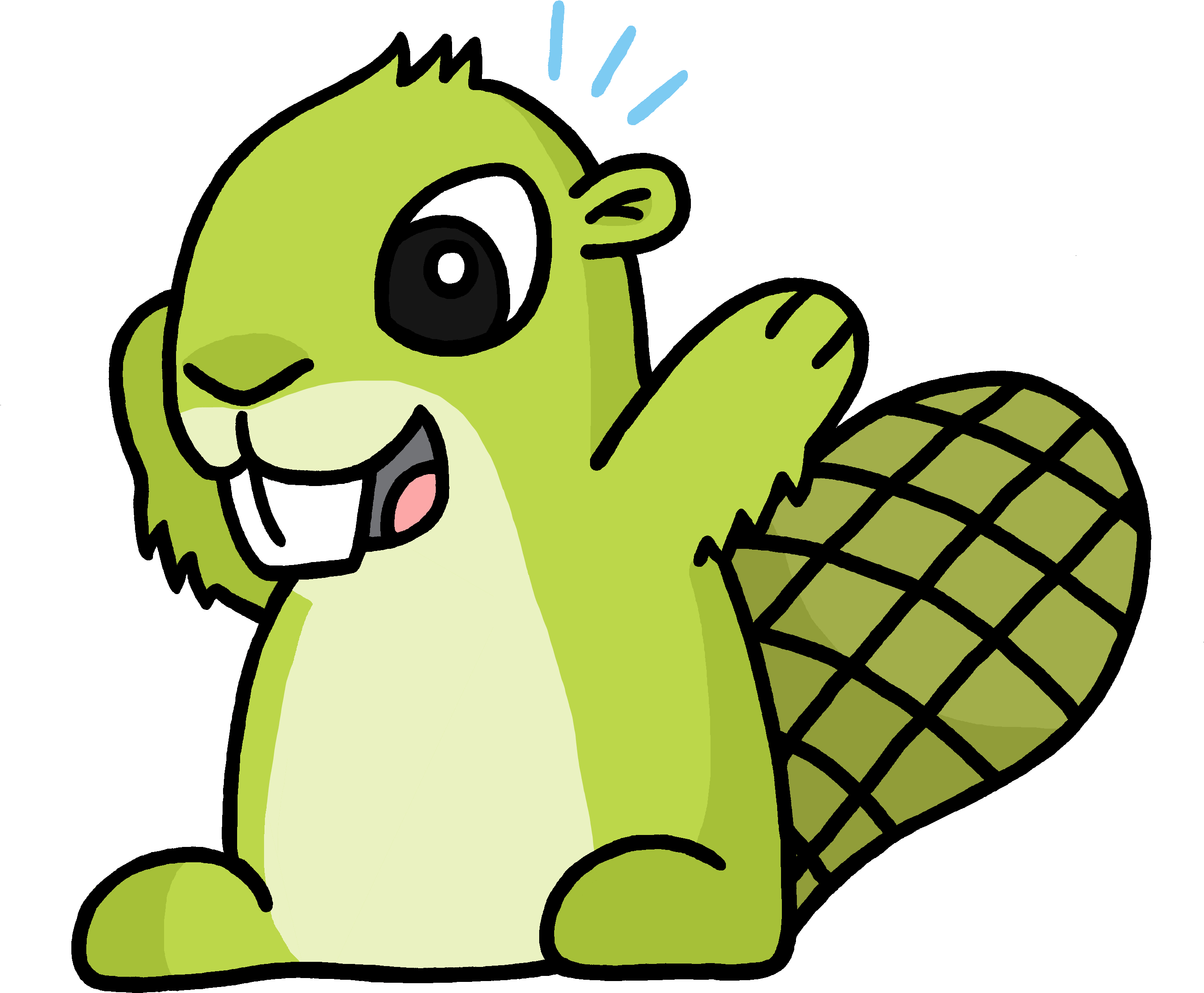 The App Beaver T Shirt , Png.