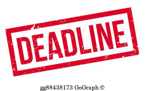 Deadline Clip Art.