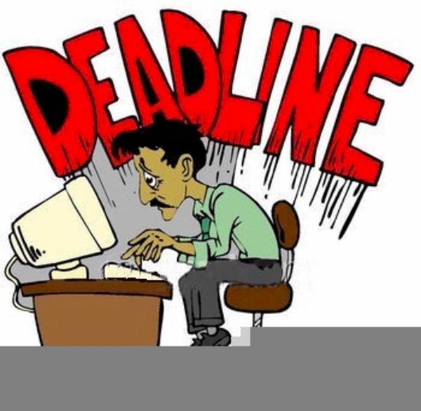 Deadline Clipart Free.
