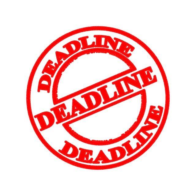 Deadline Clip Art Images.