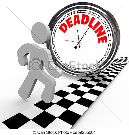 Deadline Illustrations and Clipart. 35,615 Deadline royalty free.