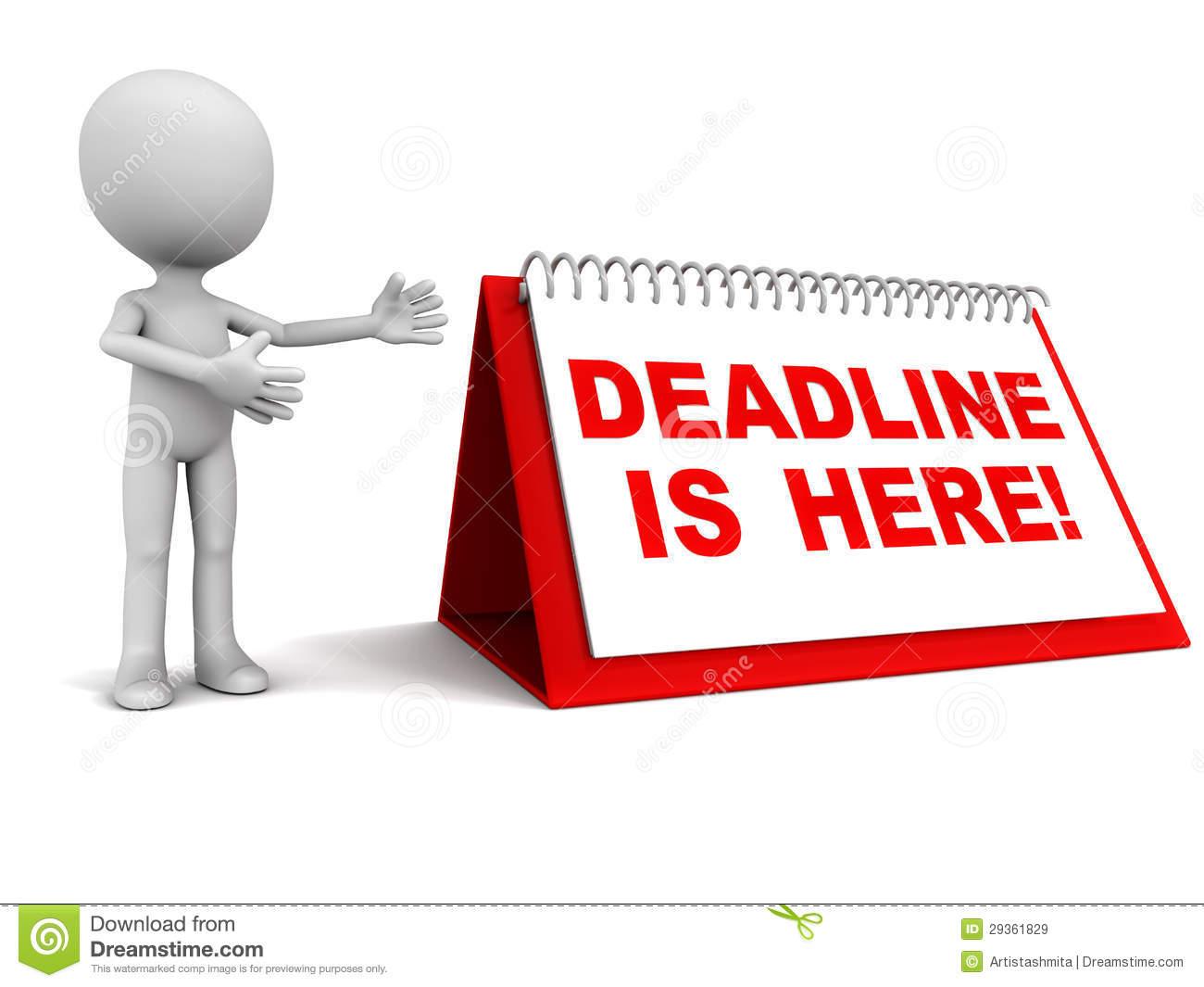 Deadline Clipart Clipground