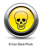Deadly danger sign Vector Clipart Royalty Free. 6,882 Deadly.