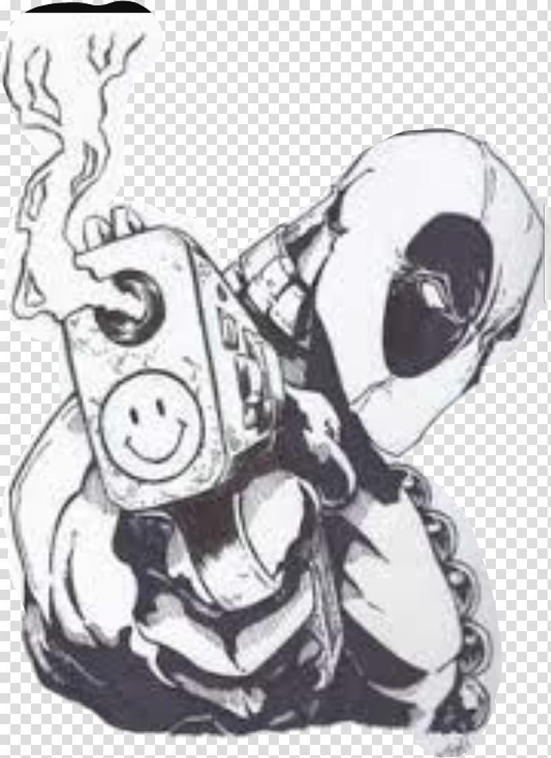 Deadpool Wall decal Sticker Polyvinyl chloride, chimichanga.