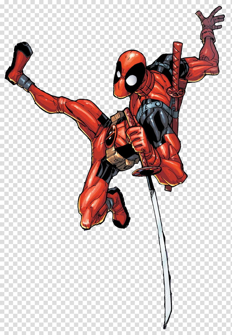 Deadpool Ramos transparent background PNG clipart.