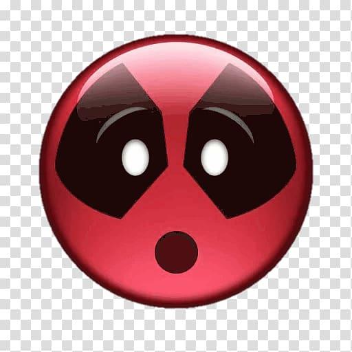 Deadpool illustration, Deadpool Cable Emoji Film Marvel.
