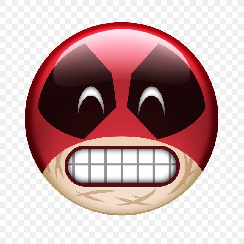Deadpool Search Emoji Film Emoticon, PNG, 1500x1500px, 2016.