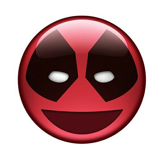 Deadpool emoji.
