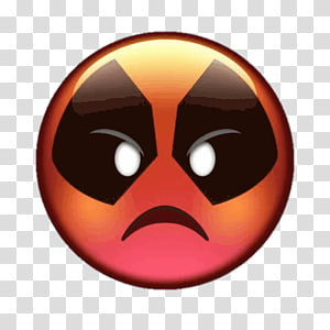 Deadpool illustration, Deadpool Cable Emoji Film Marvel Comics.