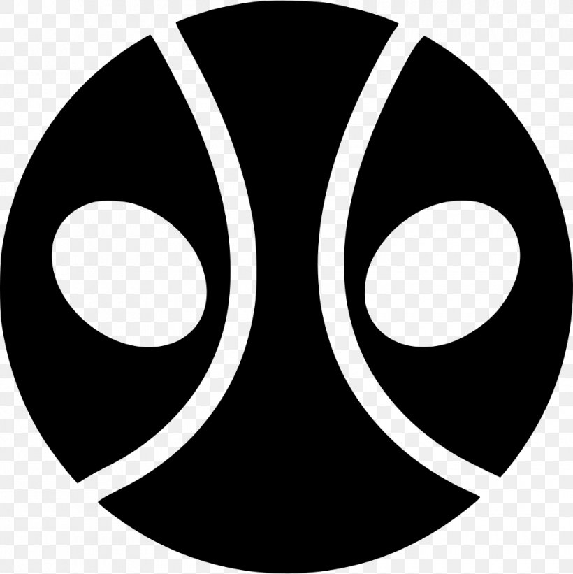 Deadpool, PNG, 980x982px, Deadpool, Black, Black And White.