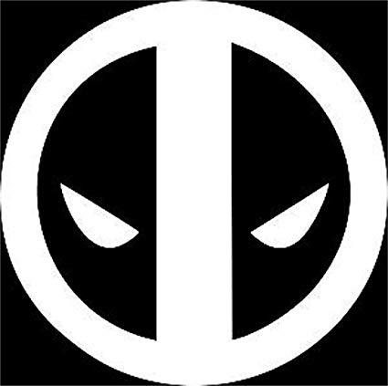 UR Impressions Deadpool Logo Decal Vinyl Sticker Graphics for Cars Trucks  SUV Vans Walls Windows Laptop.