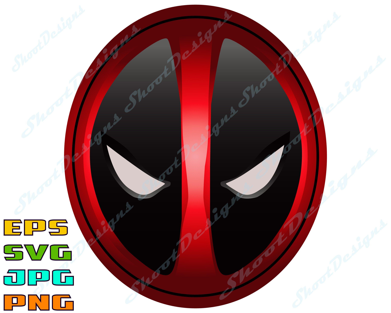 Deadpool Logo, deadpool clipart, deadpool svg, deadpool printable.