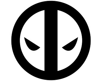 Deadpool Logo Drawing.
