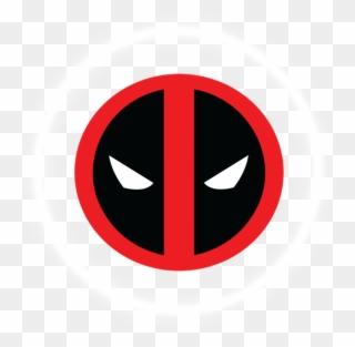 Deadpool Clipart Superhero Logos.