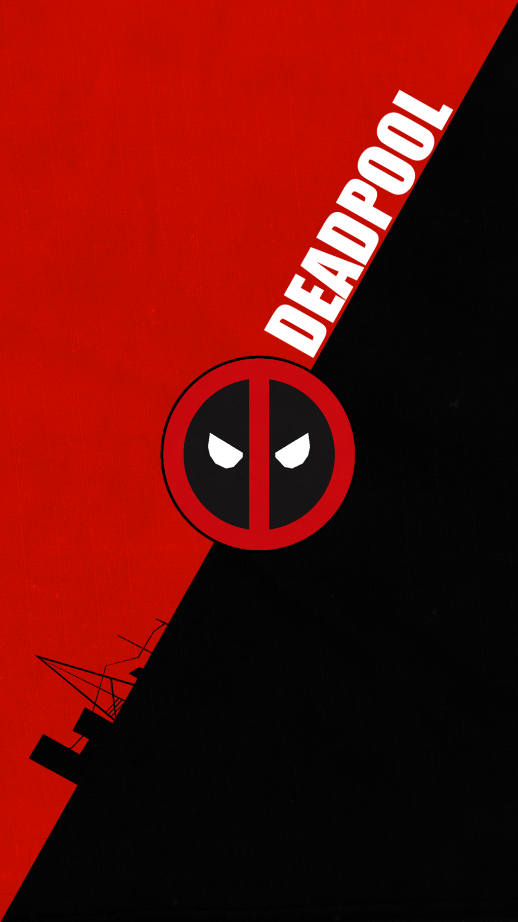 Deadpool Logo Wallpapers.