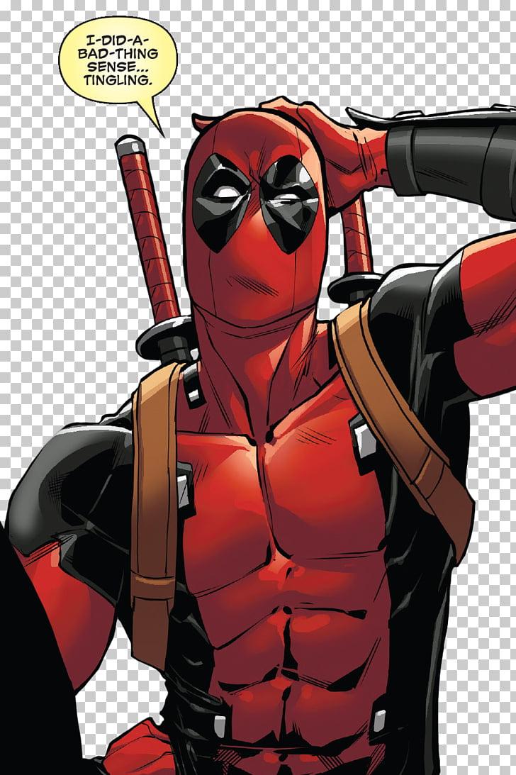 Superhero Supervillain Fiction Cartoon, deadpool mask PNG.