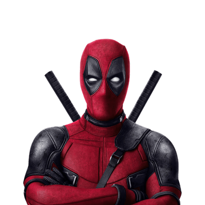 Deadpool transparent PNG images.