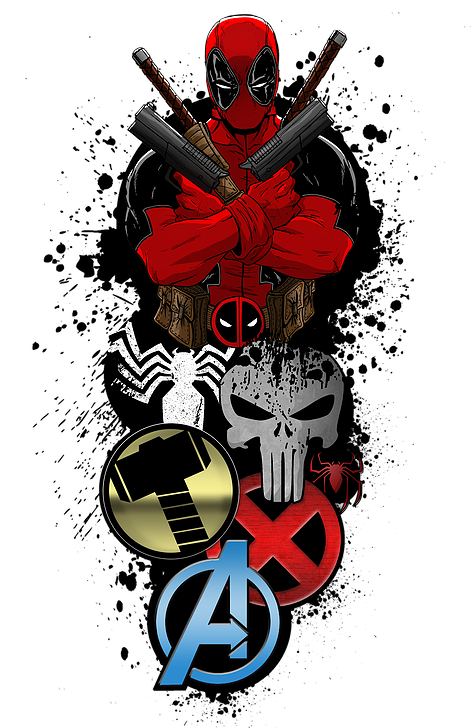 Deadpool PNG Transparent Images, Pictures, Photos.